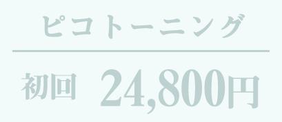 ピコトーニング 24,800円〜
