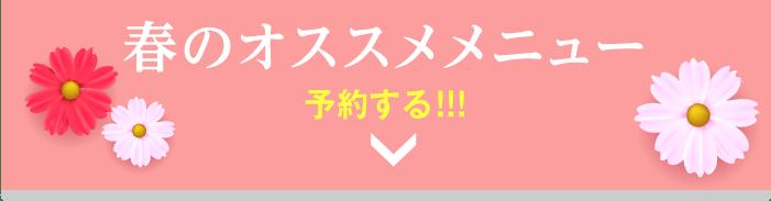 A CLINIC 横浜の春のオススメメニューのお問い合わせはこちら