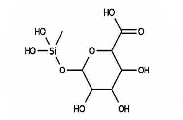 マンヌロン酸メチルシラノール