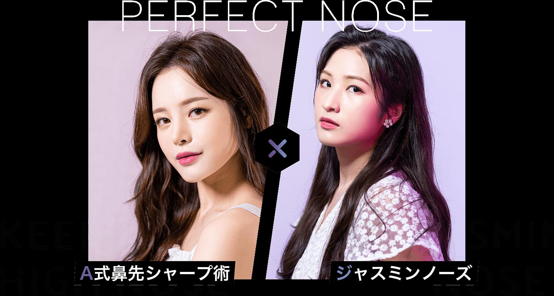PERFECT NOSE A式鼻先シャープ術®️×ジャスミンノーズ