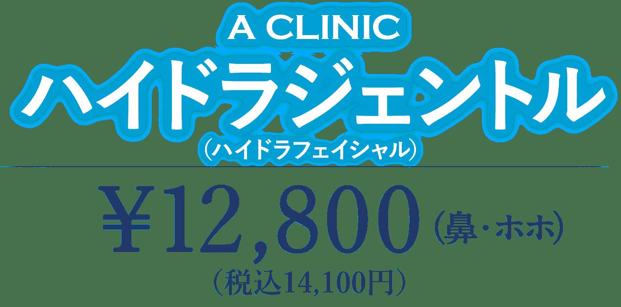 ハイドラジェントル(鼻・ほほ) 12,800円