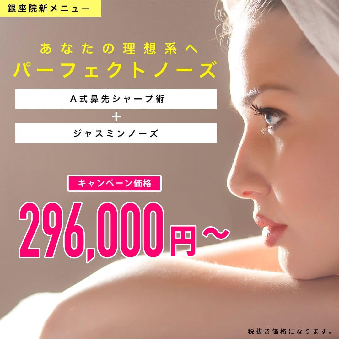 パーフェクトノーズ 銀座院限定モニター 696000円→348000円