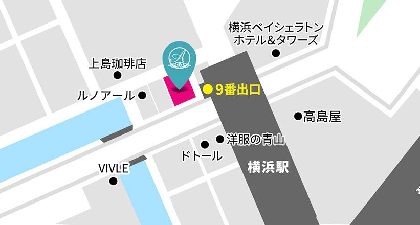 横浜院マップ
